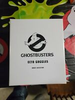 NEW Matty Collector Ghostbusters Adult Ecto Goggles RARE! Mattel