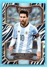 2017-18 Select ZEBRA PRINT PRIZMS Lionel Messi #/25 SP - ARGENTINA - #76