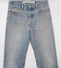 Diesel Kratt W31 L32 blau Herren Designer Denim Jeans Hose Vintage Italien Mode