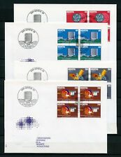 SCHWEIZ-OMPI/WIPO Nr.1-4 VIERERBLOCK SCHMUCK-FDC GENEVE 27.5.1982 (133314)