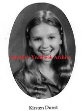 1990s Actor Kirsten Dunst School YB~Interview with a Vampire~Spider Man~Autoed++