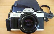 Spiegelreflexkamera Minolta XG-1 mit Objektiv 50mm Japan