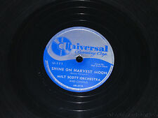 "MILT SCOTT & JIMMY PALMER Baby face/ Shine On Harvest Moon 10"" 78 Universal 111"