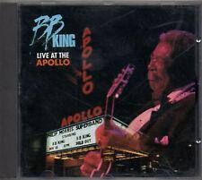 B.B.KING  CD fuori catalogo LIVE AT THE APOLLO  Germany