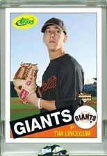 2007 TIM LINCECUM RC ETOPPS IN HAND CHROME GIANTS