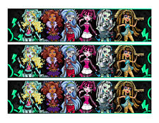 Monster High edible cake strips cake wraps decorations