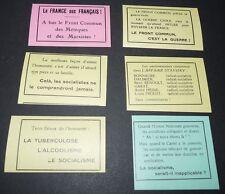 POLITIQUE JEUNESSES PATRIOTES TAITTINGER FEVRIER 1934 LIGUE PATRIOTIQUE SLOGANS