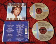 ROBERTO CARLOS *Las Canciones Que Yo Amo - 40 Grandes Exitos* RARE 1995 Spain CD
