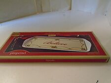 Spode Believe Serving Tray Plate  New in Box Snack Christmas Santa Sandwich