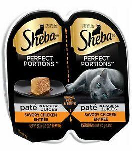 Sheba Perfect Portions Pate Savory Chicken Entree 2.6oz 1ct 3/21+