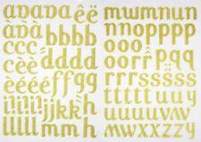 77 fer sur lettres 35 mm pour tissu.. Chiffres etc Lavable Taille jaune plus 10
