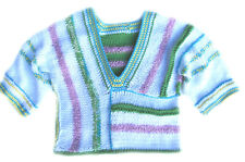 New Kss Pastel Colored Cotton V-neck Toddler Pullover Sweater (2 Years) Sw-221