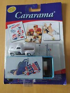 CARARAMA PEPSI COLA TIN BOX EDITION WHITE PICK-UP TRUCK - NEW/SEALED - FREE P&P!