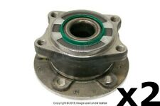 VOLVO S60 V70 XC70 (2001-2009) Wheel Hub with Bearing REAR L & R (2) SKF OEM