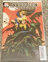 Annihilation Scourge Omega #1 Marvel Comic Near Mint Condition