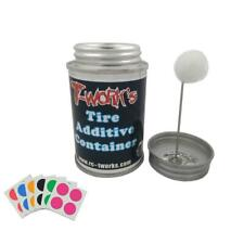 T-Work's 100ml Tire Additive Container with Application Sponge for RC Car Parts