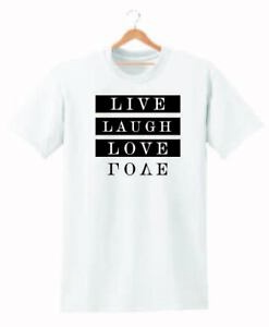 LIVE LAUGH LOVE  T SHIRT MENS WOMENS TUMBLR HIPSTER UNISEX CUTE TEE  FOR GIFT