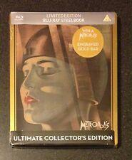 METROPOLIS Master of Cinema Ultimate Collectors Blu-Ray SteelBook New OOP & Rare