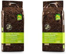 STENDER Gärtnerqualität Bio Kräutererde und Aussaaterde Pflanzenerde Blumenerde