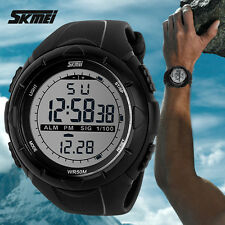 Bracelet Montre Led SKMEI Homme ETANCHE 50M Multifonctions Silicone PROMO