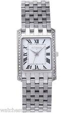 Wittnauer Men's Stainless Steel Diamond Bezel Watch 10E00