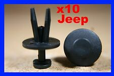 10 JEEP chrysler fascia fender bumper push clip trim fastener 3G