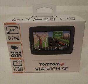 "Tomtom VIA 1410M SE GPS 4.3"" Slit Screen view"
