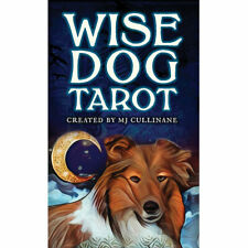"""Wise Dog Tarot NEW Deck and Booklet Set by MJ Cullinane (2020) 3x5"""" Cards"""