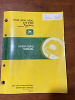 John Deere 9100,9200,9300, and 9400 Tractors Operator's Manual