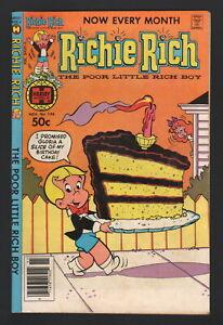 RICHIE RICH #196, 1980, Harvey Publications, VG/FN CONDITION