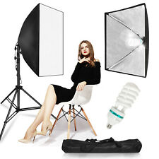 Photography Photo Studio Lighting Kit Softbox Stand Photo Equipment Soft Box