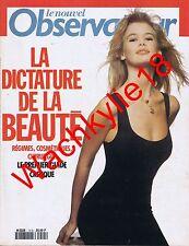Le nouvel observateur n°1415 - 19/12/1991 Claudia Schiffer Beauté Rap US Racisme