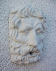 water fountain Water Head Sculpture Greek god style face