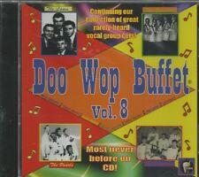 DOO WOP BUFFET - CD -  Vol. 8 - BRAND NEW