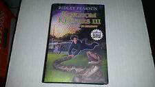 Kingdom Keepers III: Disney in Shadow by Ridley Pearson (2010) SIGNED 1st/1st