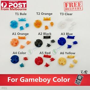 New Replacement Buttons A B Button D-pad for Nintendo Gameboy Color