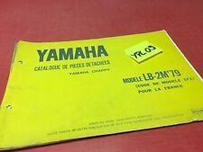 Yamaha Chappy LB-2M 1979 1F1 France catalogue pièces détachées parts list