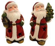 Santa Tea Light - Two pack (Tree, Lantern)