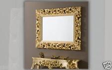 console murale OR + miroir ancien frisieur flurpiegel baroque table