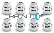 8 NEW CHROME LUG NUT COVERS CAPS CHEVY GMC SILVERADO 1500 2500 FULL SIZE TRUCK