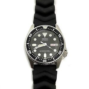 Medium-sized Men's Seiko Diver's Automatic 7S26-0030 21 Jewels
