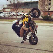 grom msx125 Crash Sub Cage 12 O'clock Bar Subcage Stunt Pegs