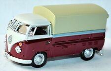 VW Volkswagen T1 Camion à benne Pick-Up Bâche De Camion À Plat 1951-67 rouge &