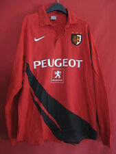 Maillot Rugby NIKE Stade Toulousain Peugeot Vintage Toulouse Rouge - XL
