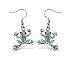 Puzzled Frog Fashionable Earing Jewelry  - Animals Collection  - Unique Gift an