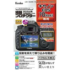 F/S Kenko LCD Screen Protector for Canon EOS 7D Mark II New free shipping