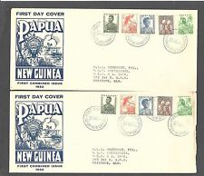 PAPUA & NEW GUINEA 1952 (30 Oct) Illustrated FDC with ½d - 99564
