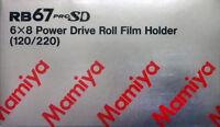 Mamiya RB67 motorized Film Holder  6x8 inkl. 19 MwSt. + Warranty