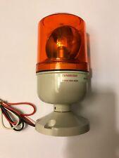 Tenor Controls Tx-110/220-Y Amber Strobe Light 12v 5w Rotating Bulb
