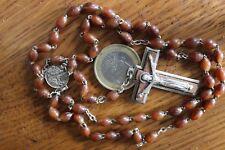 Vintage Chapelet Rosary Beads St Michele Patron Saint Parachutist Air Force